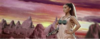 Ariana Grande Guns Into Boob Tribute Under