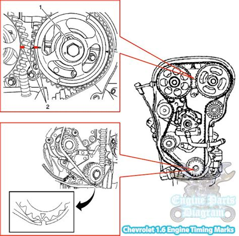 Chevy Aveo Timing Belt Mark Diagram Engine