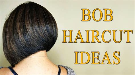 graduated bob hairstyles and bob haircut ideas for graduated bob haircuts 2018 back view