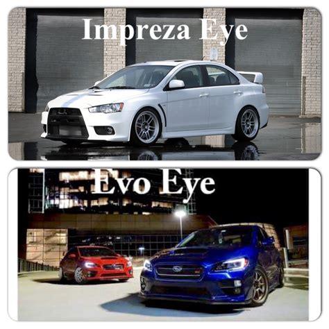 evo eye if u think we should call the new subaru evo eye well