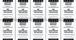 2005 Dodge Ram Truck Repair Shop Manual 4 Vol  Set