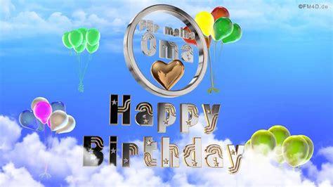 geburtstagslied fuer meine oma happy birthday