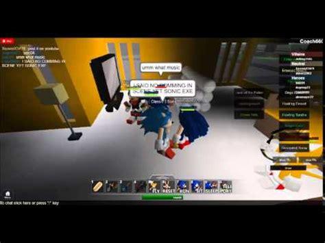 roblox movie 1 sonic exe youtube