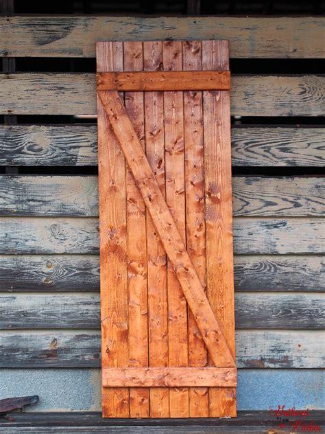 diy barn door     minutes gathered