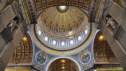 Basilica Peter Vatican St Interior Architecture Dome
