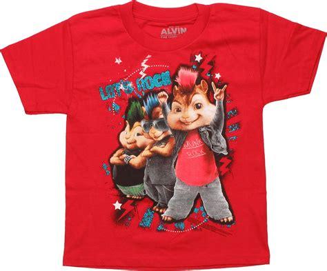 Alvin And The Chipmunks Lets Rock Juvenile Shirt