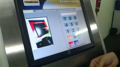 totem touch schalter recarga de celular em sua loja