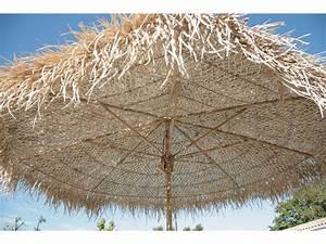 Parasol En Paille : parasol de jardin en bambou 270 8 baleines 40576 ~ Teatrodelosmanantiales.com Idées de Décoration