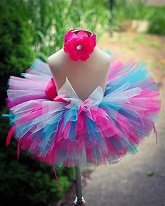 Tuto Tutu Tulle : handmade fluffy kids girls tutu skirt rainbow tutu multilayer baby tulle skirt birthday party ~ Dode.kayakingforconservation.com Idées de Décoration