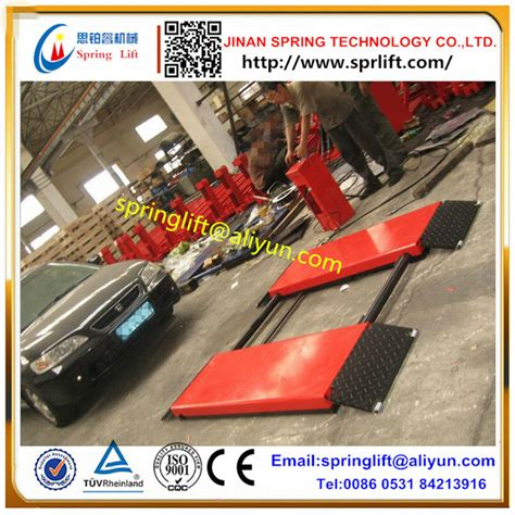 2017 New Style Small Type Auto Scissor Lifter Car Lifter