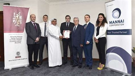 bureau veritas qatar mannai ict awarded three iso certifications
