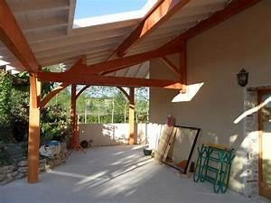 terrasse couverte bois With terrasse couverte en bois