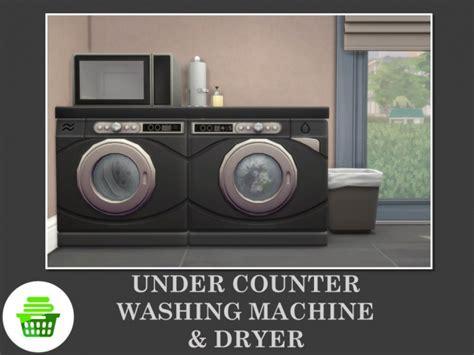 counter washing machine dryer  teknikah  mod