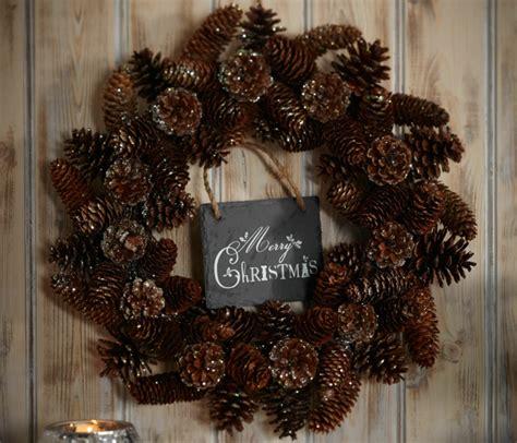 weihnachtskranz basteln 32 inspirierende bastelideen f 252 r weihnachten