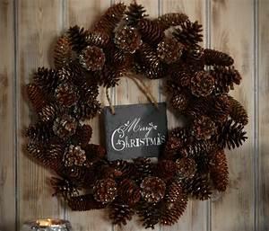Weihnachtsdeko Ideen Selbermachen : weihnachtskranz basteln 32 inspirierende bastelideen f r ~ Orissabook.com Haus und Dekorationen