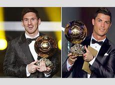 Empate entre Messi y Cristiano Ronaldo por el Balón de Oro