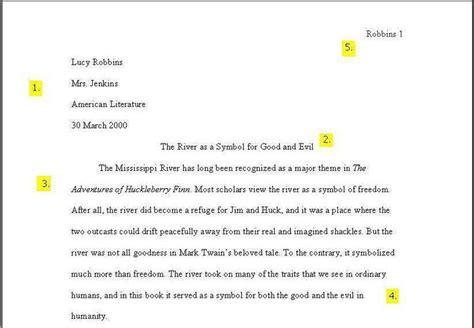 mla format college essay  essay writing top