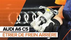 Comment Degripper Un Etrier De Frein : comment remplacer un trier de frein arri re sur une audi a6 c5 tutoriel autodoc youtube ~ Medecine-chirurgie-esthetiques.com Avis de Voitures