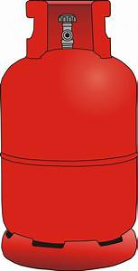 Gas Bottle Vector Clipart image - Free stock photo ...