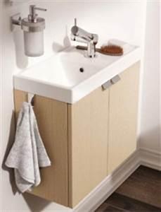 Meuble Largeur 50 Cm : meuble salle de bain et vasque largeur 50 cm ~ Melissatoandfro.com Idées de Décoration
