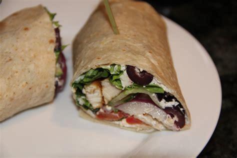 Greek Grilled Chicken Wrap   Kath's Kitchen Sync