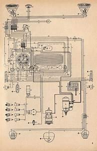 Eletricidade Vw Fusca   Esquema El U00e9trico Do Fusca 1960
