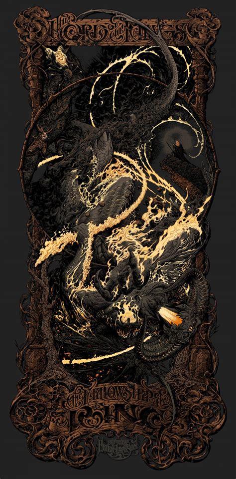 badass exclusive mondos fellowship   ring poster