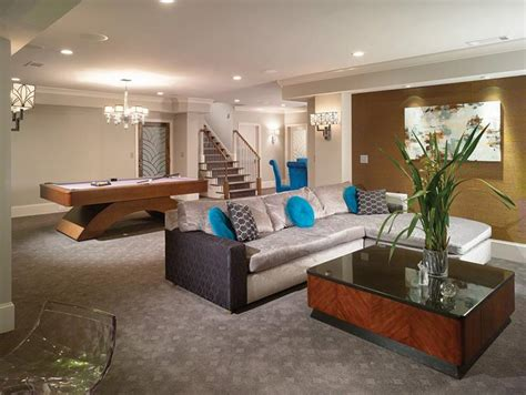 great finished basement design ideas for modern house 22 finished basement contemporary design ideas