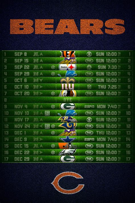 Free San Francisco 49ers Wallpaper Chicago Bears 2013 Schedule Iphone 4 Wallpaper 640x960