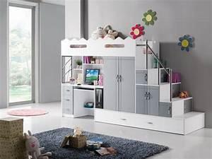 Lit Mezzanine Enfant : le lit mezzanine ou le lit superspos quelle variante choisir ~ Teatrodelosmanantiales.com Idées de Décoration