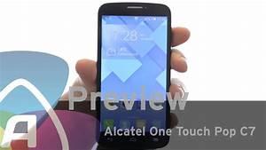 Alcatel One Touch Pop C7 Preview  Dutch