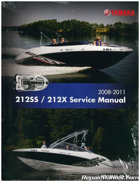 Boat Service Manuals by 2008 2011 Yamaha 212ss 212x Sport Boat Service Manual