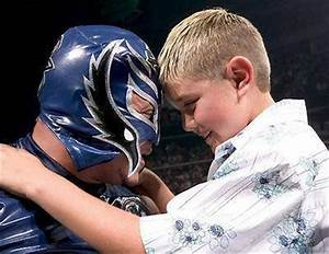 Reymisterio: Rey Mysterio and his son Dominick