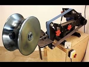 Bohrer Schleifen Vorrichtung Eigenbau : riemenscheibe mit eigenbau schleifmaschine drehen youtube ~ Orissabook.com Haus und Dekorationen