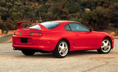 toyota supra car and driver