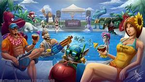 League of Legends Pool Party 2013 by MaTTcomGO on DeviantArt