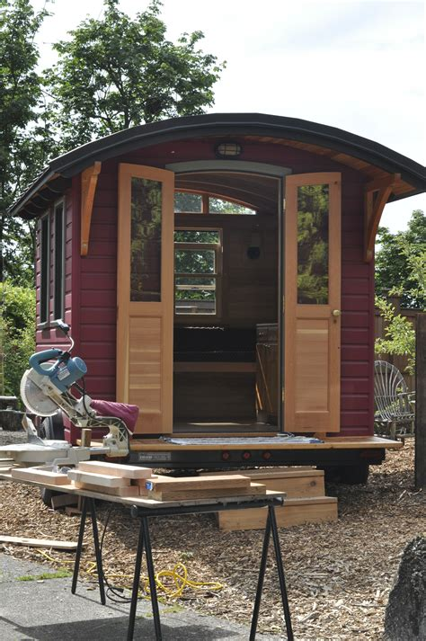 living in a tiny house build a tiny house in the garden celtic sustainables