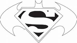 Superman Logo Template - Cliparts.co