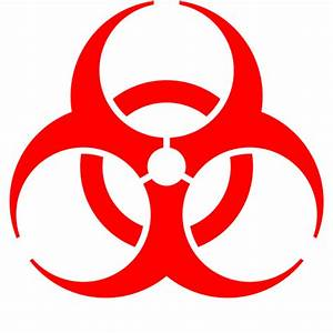File Biohazard Symbol  Red  Svg