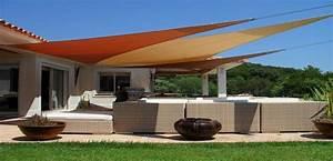 Voile Pour Terrasse : voile d ombrage pour terrasse ~ Premium-room.com Idées de Décoration