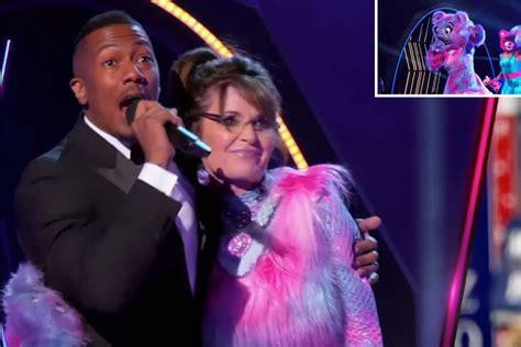 Sarah Palin revealed as Bear in 'The Masked Singer ...