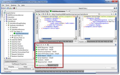 web services testing using soapui resume getting started with soapui