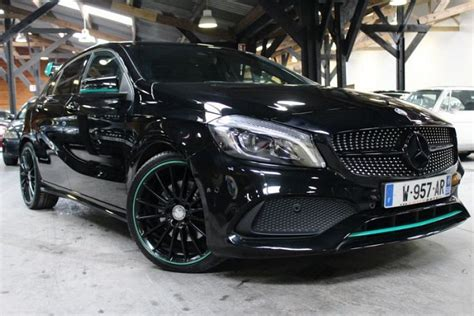 occasion classe a mercedes classe a w176 250 blueefficiency sport edition amg berline noir occasion 36 900