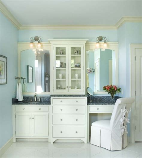 bathroom cabinetry ideas master bath with seating area cabinetry is