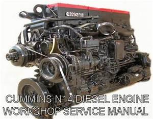 Cummins N14 Service Manual Diesel Engine Download Guide