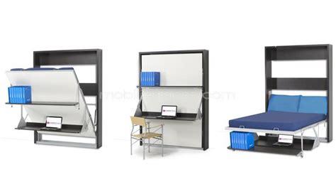bureau modulable lit bureau design escamotable etagere pliable modulable