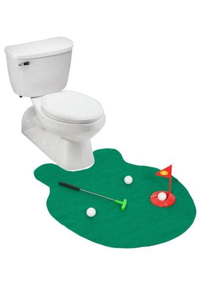 Best Bathroom Gadgets  Loo Golf, Toothbrush Fountain