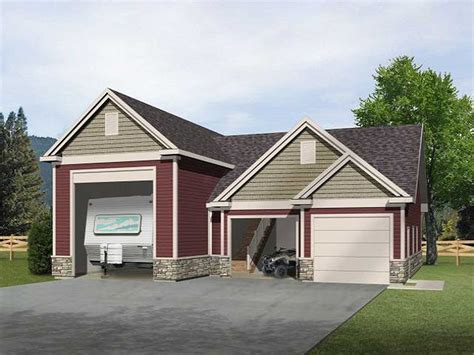 house plans with rv garage rv garage with loft 2237sl cad available pdf