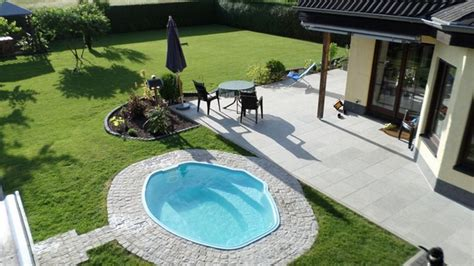 small inground pools inspiring ideas for small gardens