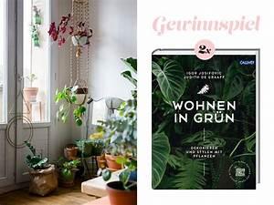 Wohnen In Grün : urban jungle wohnen in gr n buch verlosung lieschen heiratet ~ Markanthonyermac.com Haus und Dekorationen